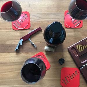 Onderzetter wijn