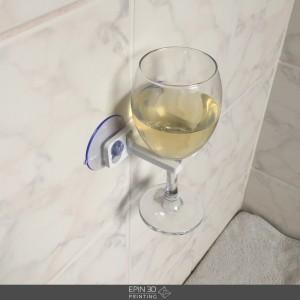 Wijnglashouder zijkant